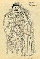 Dursley family by Neo-Omegushka