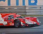 The Rebellion Toyota No12, 4th at Le Mans 2014 by huckerback6