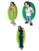 Caricatures of Friends part 1 by INGGO