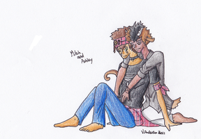 WCaBR: Mitch and Ashley by Miss-Arcadia