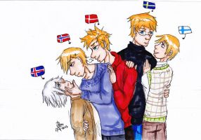 Nordic 5 by AnnHolland