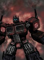 Death of Cybertron by Robrkid