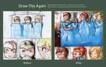 Draw this again - Three Little Timelords by FuriarossaAndMimma