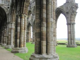 Whitby Abbey ruins - 8 by HugMonster341