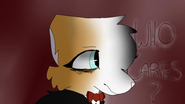 emo kitty - art trade by Angelkat567