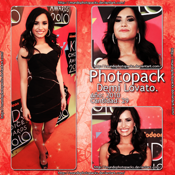 Photopack Demi Lovato by MundoPhotopacks