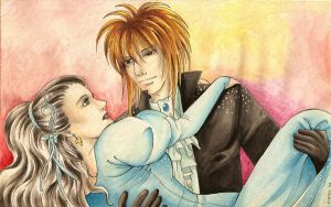 Jareth and Sarah II by nasy