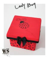 Lady Bug by WoodStockArtBR