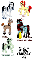 FF7+MLP: mini-dump by nashidesei
