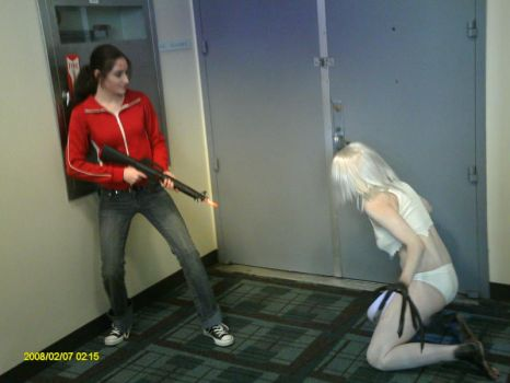 Left 4 Dead cosplay ZOEY NO by Doom-In-A-SKORT