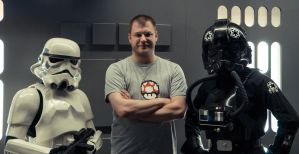 Me and the Stormtroopers by stupidduck