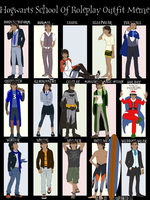 The 15 Outfits of Gawain by GeoCaecias