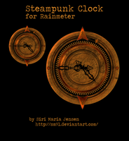 Steampunk Clock by RestlessLynx