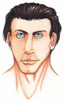 Till Lindemann Colored Copic by NikaGika
