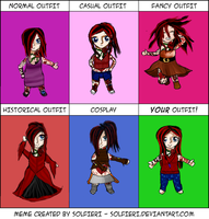 Mahalia Outfit Meme by IvyDevi
