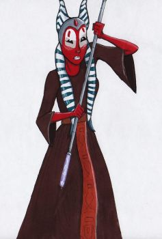 Shaak Ti by SilverSparrow75