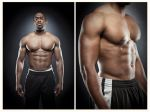 Fitness shoot with Daniel Barnes DIPTYCH by moshunman