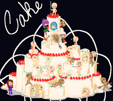 Cake collab my part by brsa