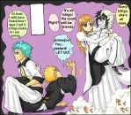 Grimmjow and Rukia by Laxus23