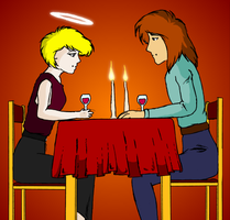 A Romantic Dinner at Home by Dolari