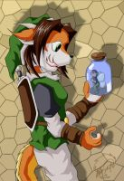 Fairy in a Bottle by Minas-the-Inkwolf