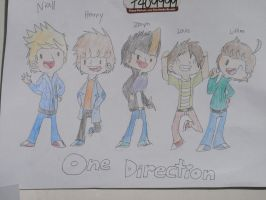 One Direction by Xtreme-Cartoons