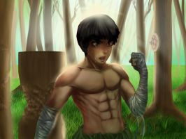 Endless training by Bariarti