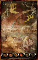 MLP : The Return of Harmony - Movie Poster by pims1978