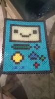 BMO perler by Cosplaying-Squirtle