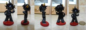 Karkat miniature for my sis by shadowmer92