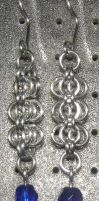 Chainmaille Earring 13 by Des804