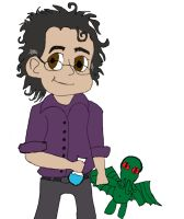 Bruce Banner (with bonus Cthulhu) by Evanescent-Chaos