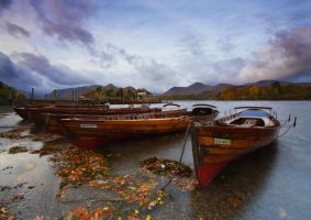The Boats of Dewent Water by DL-Photography