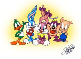 Tiny Toons by 6Meike9
