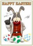 Happy Easter 2014 - Peppy Hare by EdwardTCat