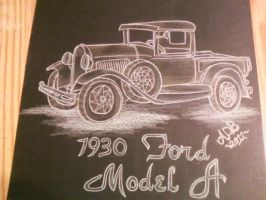 Model A Ford by Boomboom34