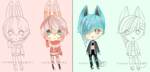 Defect [FEINT] Adopt SET PRICE 01742-Chu Collab by chuguri