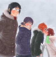 .:A very Manfy Christmas:. by Sofy-Senpai