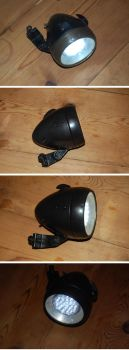 1930s Bicycle Lamp LED Restoration by yereverluvinuncleber