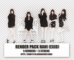 [Render pack]: Hani [EXID] by Jenny3110