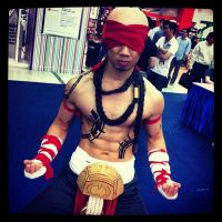 League of Legends Lee Sin by Lilaeroplane