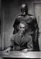 Batman and Joker Take 2 by donchild