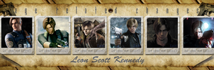 Leon Scott Kennedy. Age-related changes by Taitiii