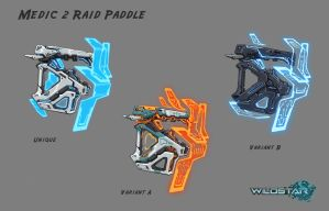 Wildstar Medic Raid Shock Paddles by Koryface