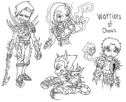 Warriors of Chaos by demongirl99