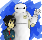 BH6: Introducing Baymax by TsundereViolet-Chan