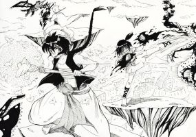 Magi: The Labyrinth of Magic fan art by MadhatterZer0