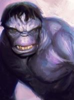 grey Hulk by videsh