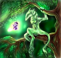 Spirit of the forest by Static-ghost