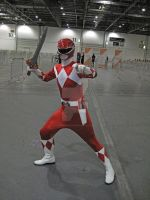 Mighty Morphin Red Ranger by ZeroKing2015
